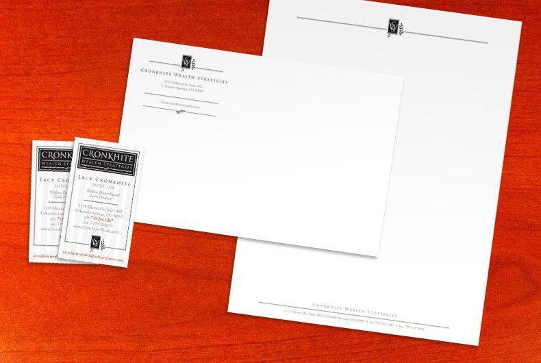 Business Card, Letterhead, Envelope Design by Swanie