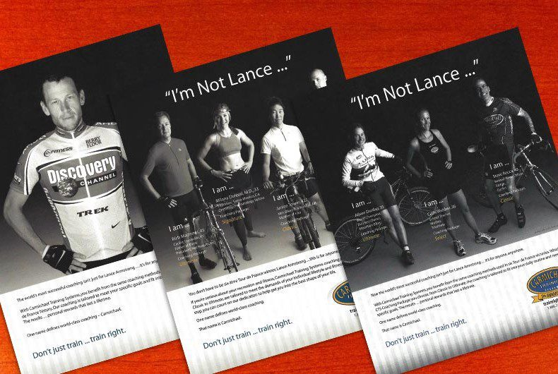 Advertising Design for Carmichael Training Systems by Swanie