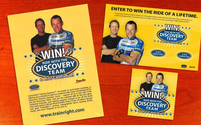 Ride With The Discovery Team Promo Design by Swanie
