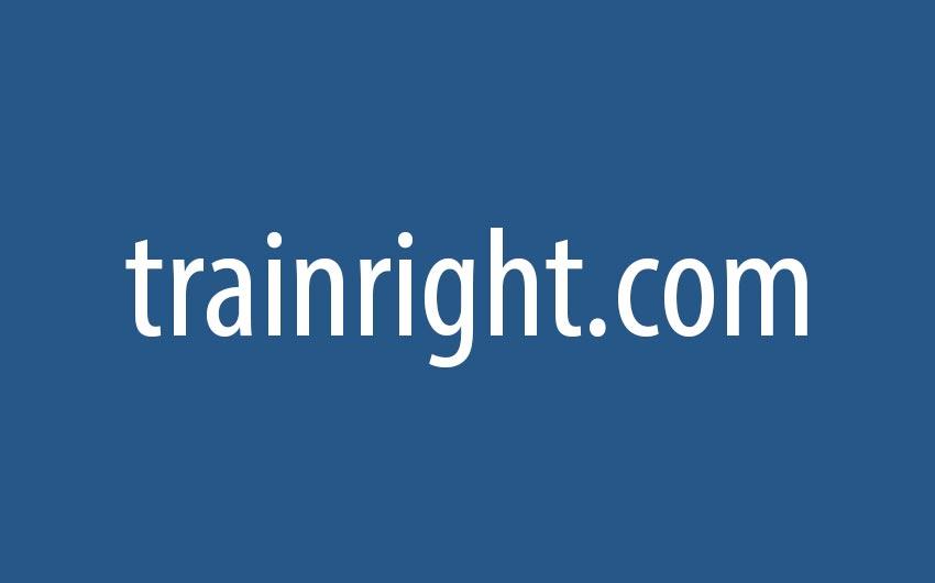 Trainright.com Text logo