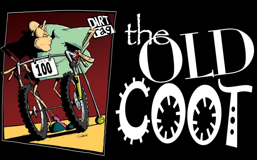 Illustration - Dirt Rag Magazine Old Coot by Swanie