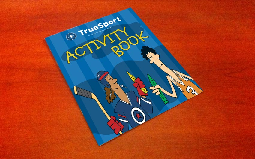 Cartoon Illustration and Book Cover Design for USADA by Swanie