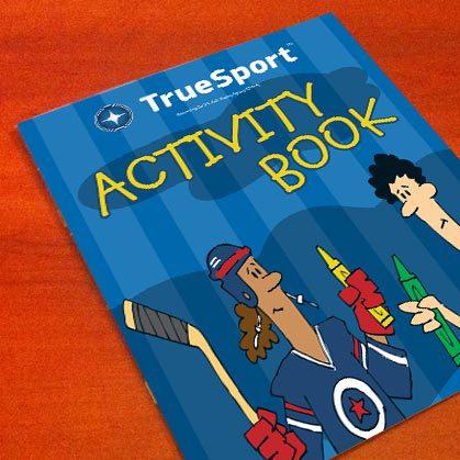 Freelance Cartoon Illustration for TrueSport by Swanie